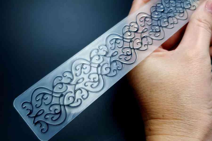 Filigree (15x3) -  Plastic Texture 1