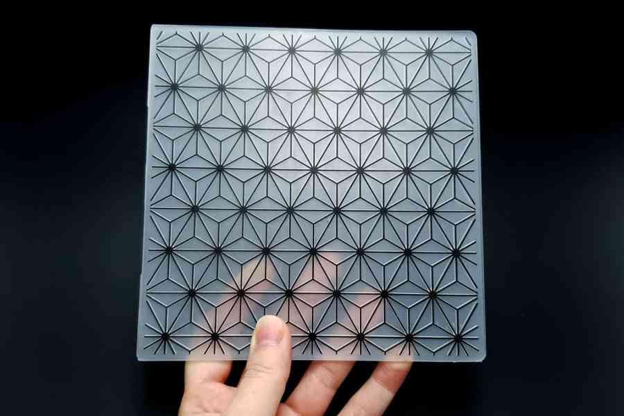 Geometric Flowers 2 (15x15) - Plastic Texture 2