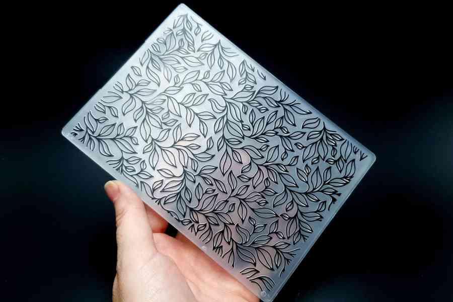 Leaves 2 (10.5x14.5) - Plastic Texture 2
