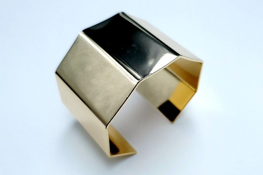 Metal Bracelet Base, 40x60mm 1