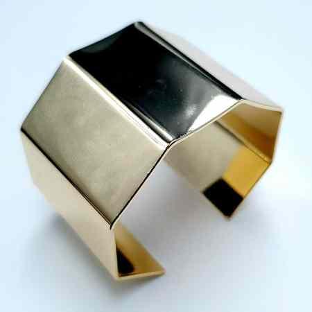 Metal Bracelet Base, 40x60mm