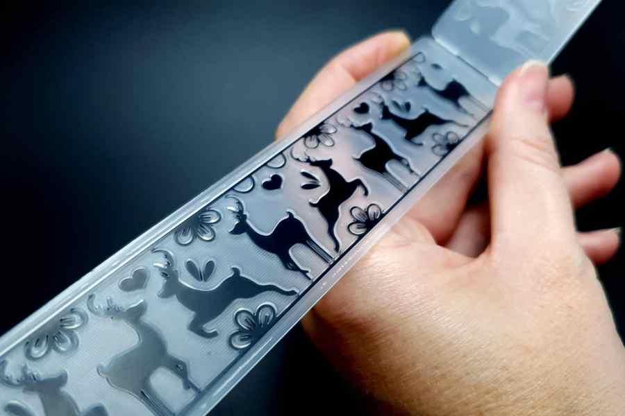 Reindeer Dancing (15x3) - Plastic Texture 4