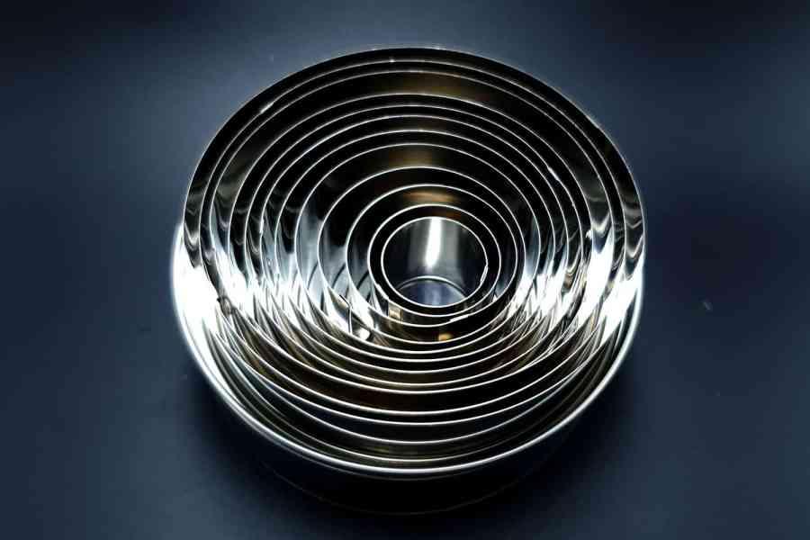 Round Shape Cutters, 12pcs, 3-12 cm 3