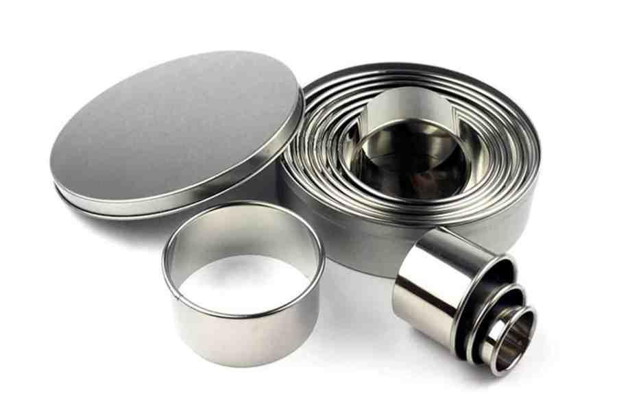 Round Shape Cutters, 12pcs, 3-12 cm 11
