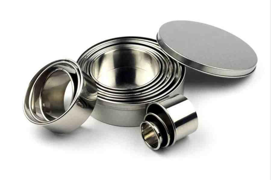 Round Shape Cutters, 12pcs, 3-12 cm 13