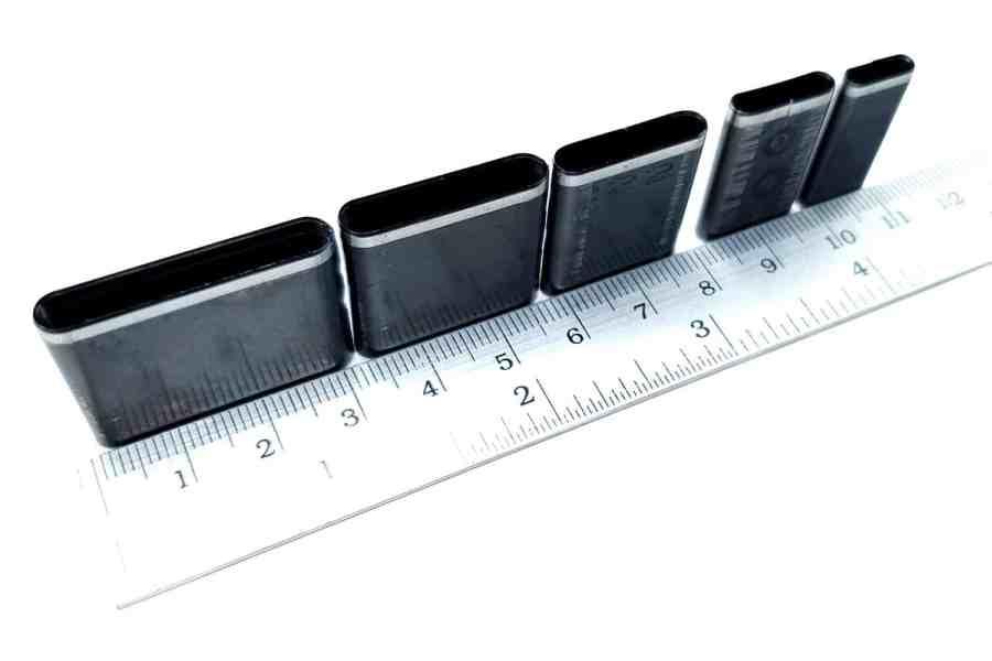 Sharp Cutters Long Oval shape, 5pcs 9