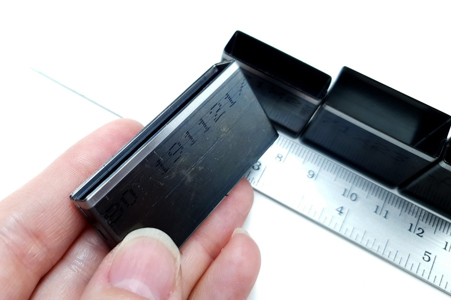 Sharp Cutters Long Rectangle shape, 4pcs 8