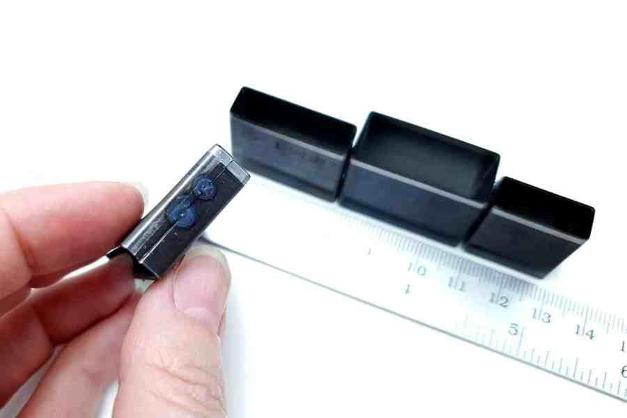 Sharp Cutters Long Rectangle shape, 4pcs 9