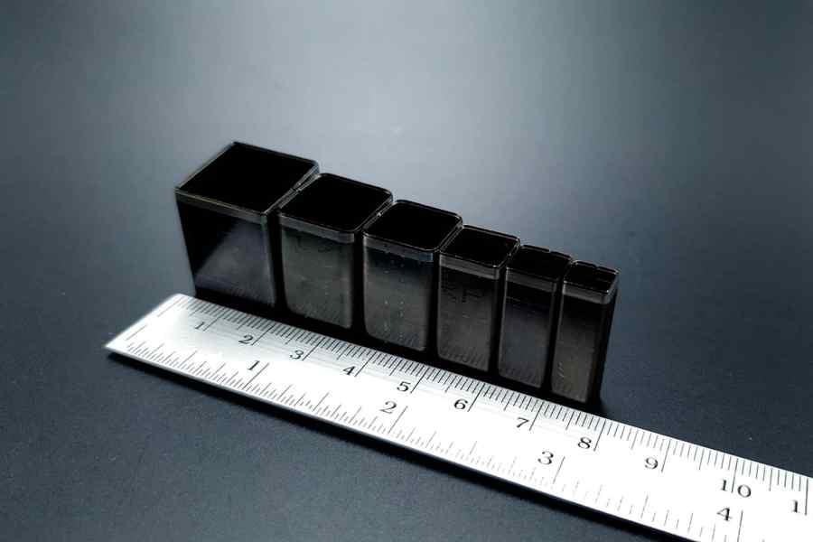 Sharp Cutters Square shape, 6pcs 3