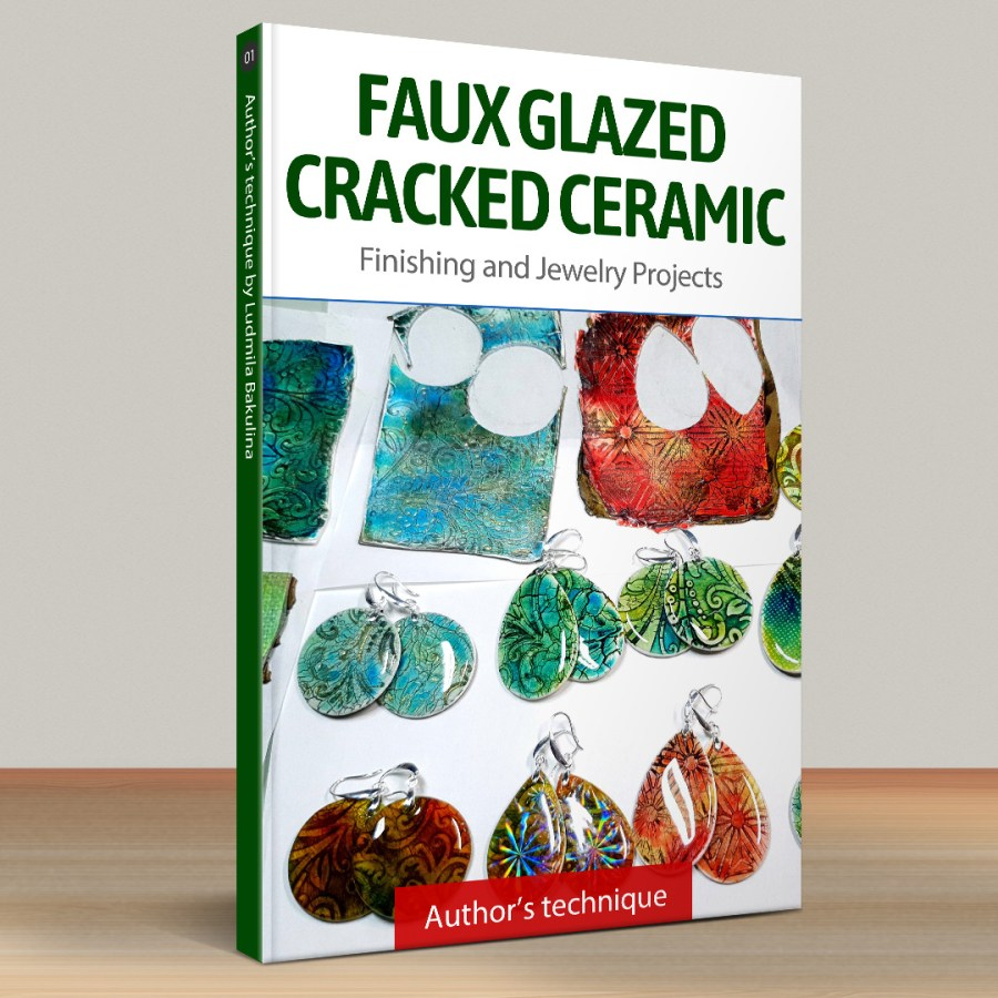 Part 3. Faux Glazed Cracked Ceramic