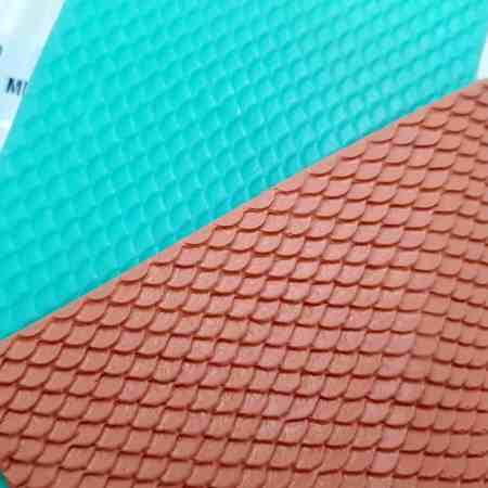 Mermaid Tail, 145x87mm