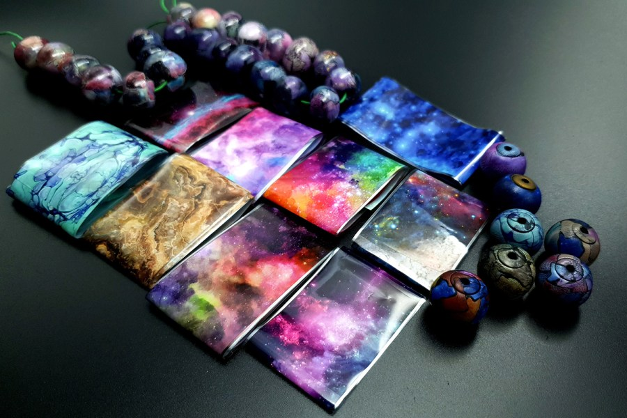 Transfer Foils Set - The Universe (9 pcs) 1