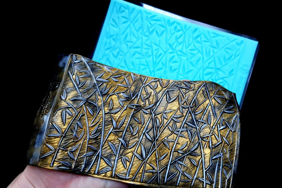 """Silicone Texture """"Bamboo Forest"""" 5"""