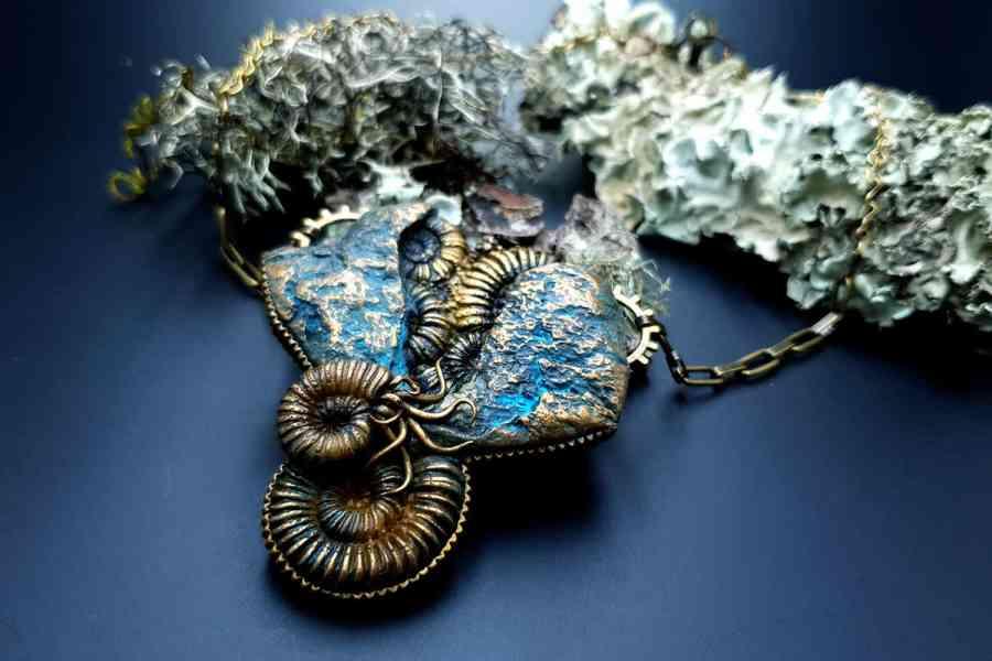 Square Medium Ammonites Mold #2 6