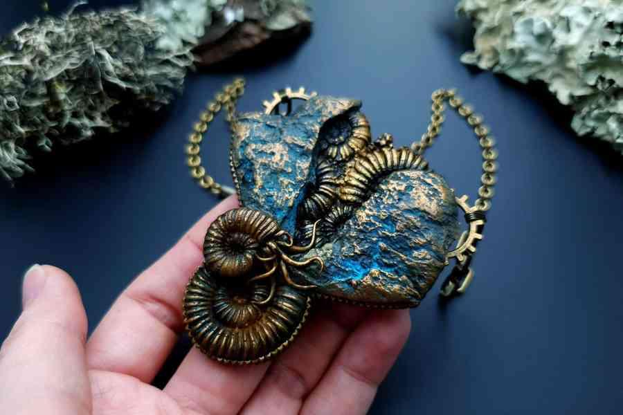 Square Medium Ammonites Mold #2 8