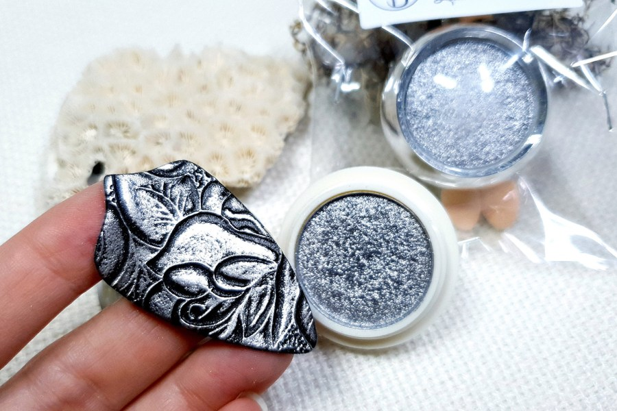 Silver - Solid metal powder (1pcs) 1