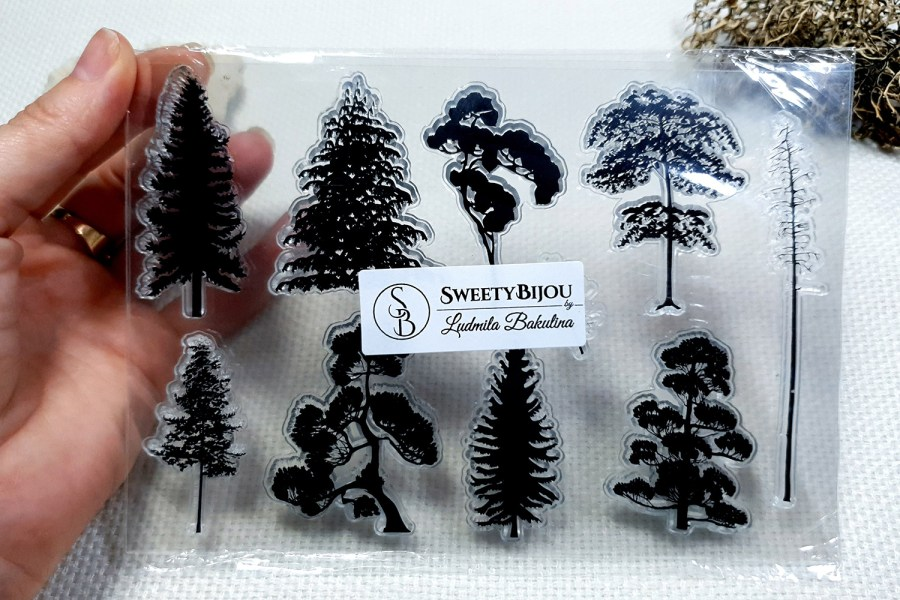 Forest - Clear Silicone Stamp 2