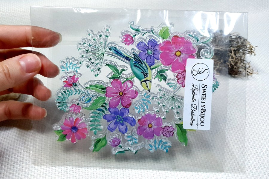 Flowers - Clear Silicone Stamp 2