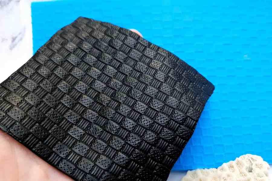 Super Thin Texture - Wicker Rug (190x110) 5