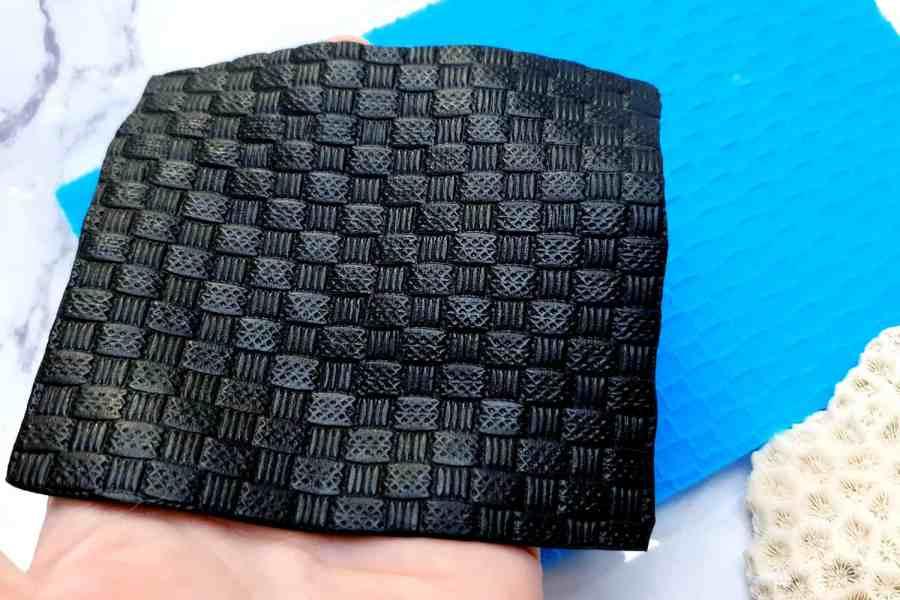 Super Thin Texture - Wicker Rug (190x110) 6