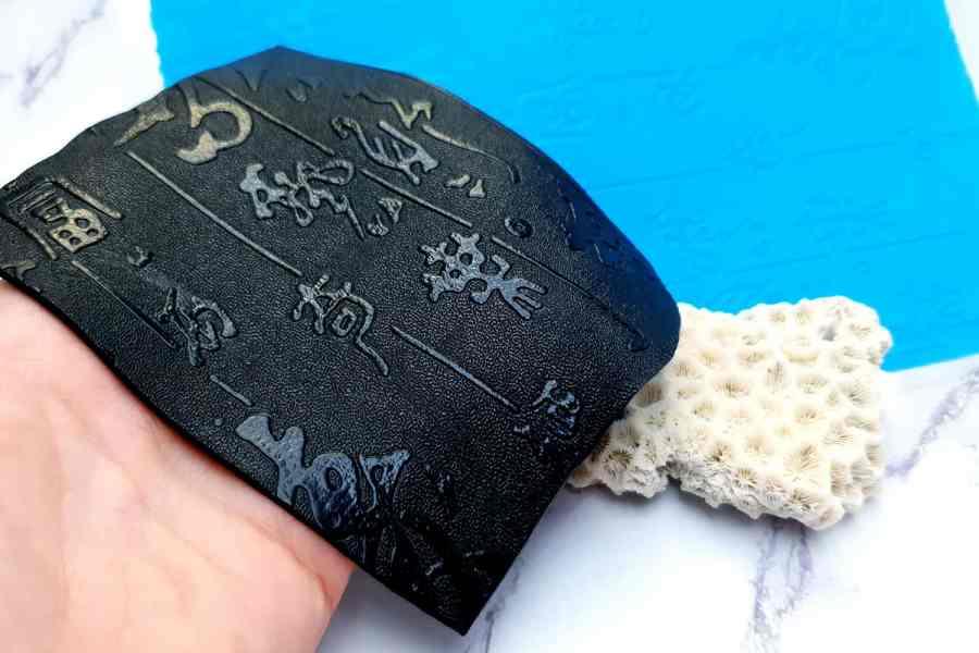 Super Thin Texture - Textured Hieroglyphs (190x120) 9