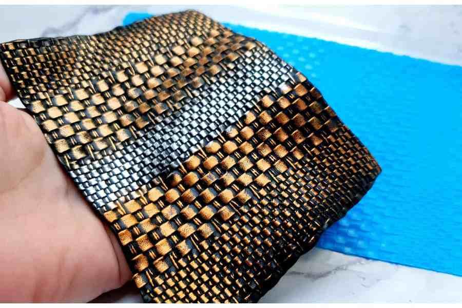 Super Thin Texture - Wicker Rug 2 (190x110)