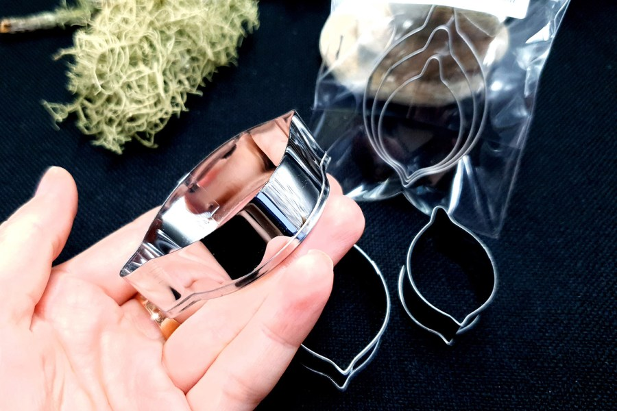 Stainless Steel Jewelry Petal Shapes Cutters (1) 5