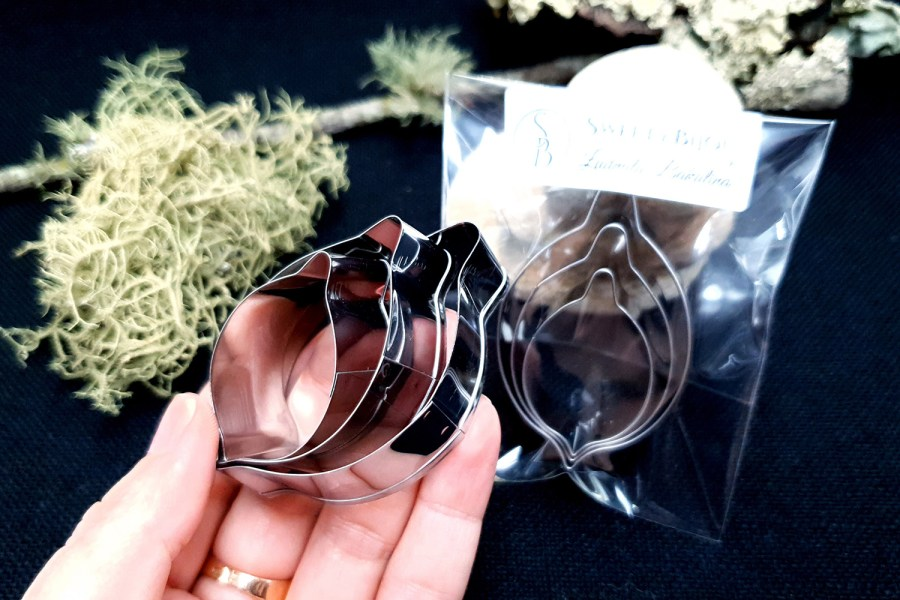 Stainless Steel Jewelry Petal Shapes Cutters (1) 8