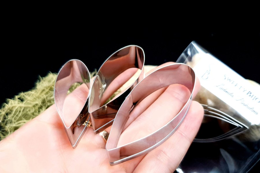 Stainless Steel Jewelry Petal Shapes Cutters (2) 11