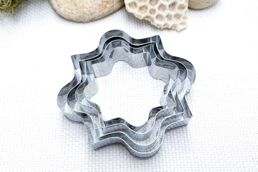 4 pcs Stainless Steel Square Shaped Cookie Cutters 11