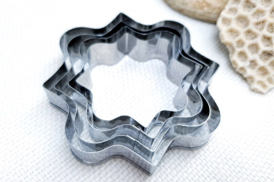 4 pcs Stainless Steel Square Shaped Cookie Cutters 1