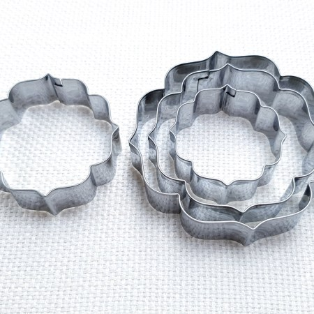 4 pcs Stainless Steel Round Shaped Cookie Cutters