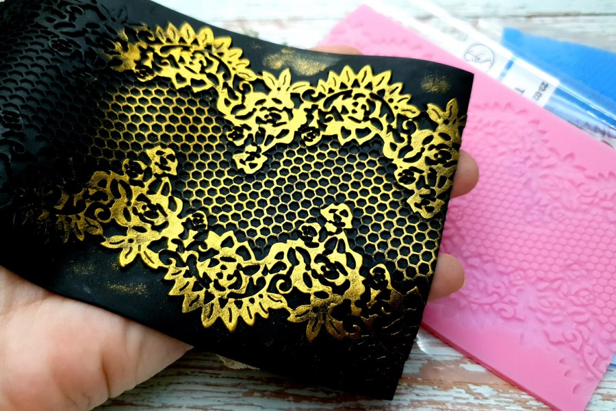 Tiny Honey Lace - 100x140mm 1