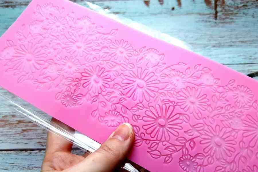 Flowers Field Lace - 90x250mm