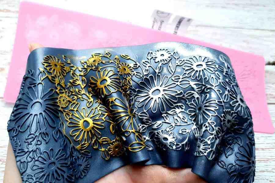 Flowers Field Lace - 90x250mm 10