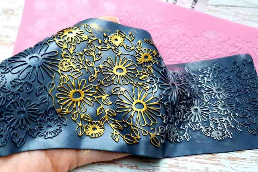 Flowers Field Lace - 90x250mm 1