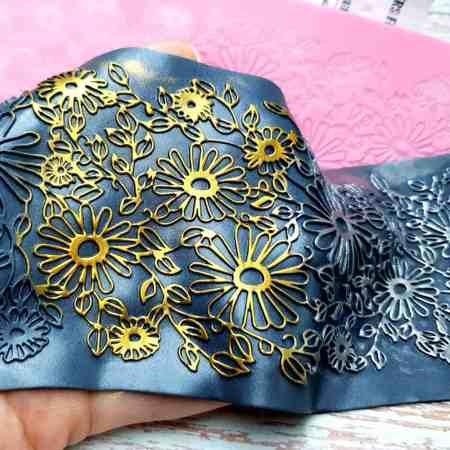 Flowers Field Lace – 90x250mm