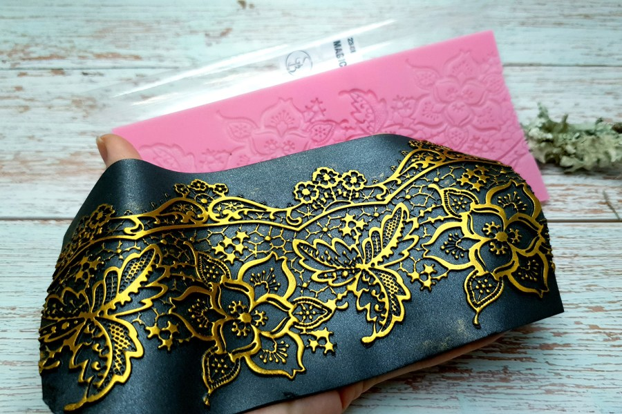 Magical Flowers Lace - 90x190mm 4