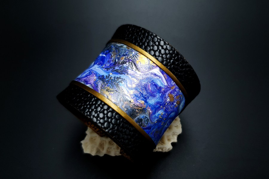 "Polymer clay Bracelet ""Magic Forest"" 4"