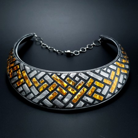 """Statment Necklace """"Golden Road"""""""