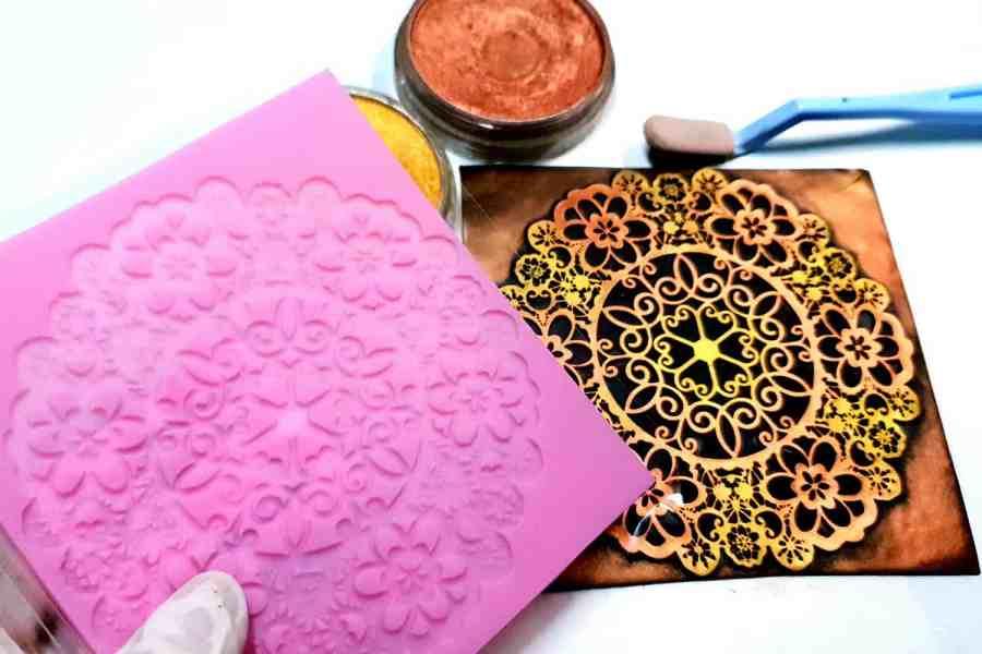 Lace Mandala #3 - 115x115mm 5