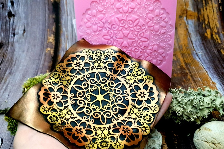 Lace Mandala #3 - 115x115mm 11