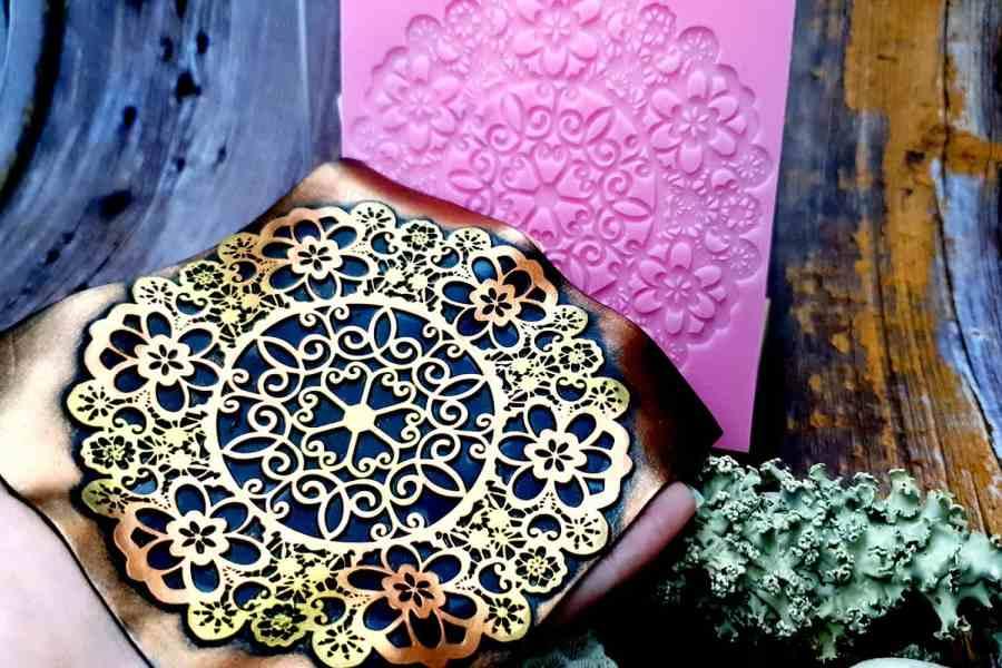 Lace Mandala #3 - 115x115mm 12