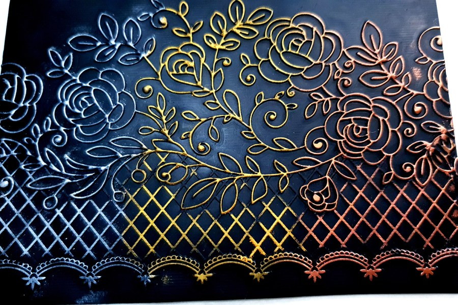Simple Roses Lace - 120x170mm