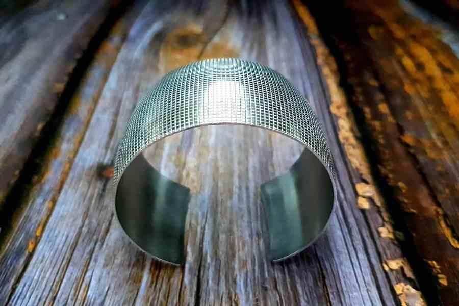 Silver Bracelet Base