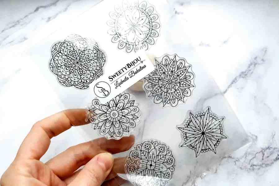 Mandala Flowers 6