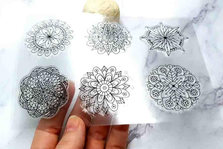 Mandala Flowers 5