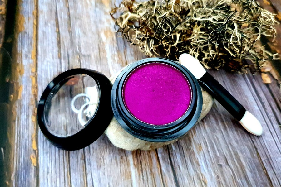 "Solid Pigment Powder ""Magenta"" with Metal and Chrome Effect 4"