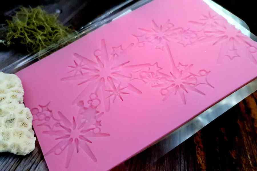 Magic Stars Silicone Texture (100x155mm)