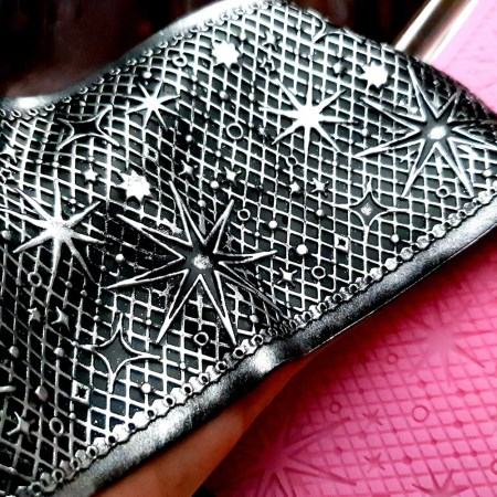 Starry Night Lace Silicone Texture (90x175mm)